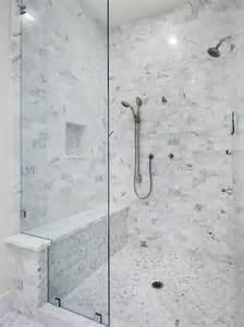 marble tile shower bath