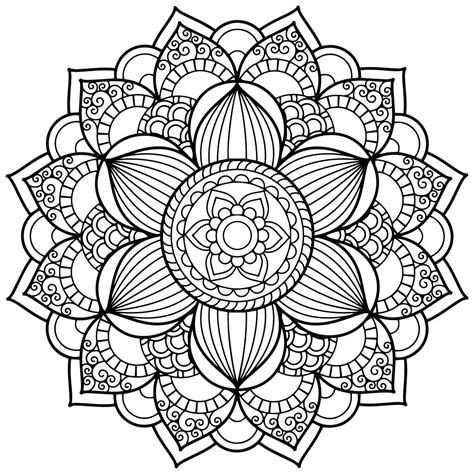 mandala coloring books mandala coloring pages for adults for android ios and