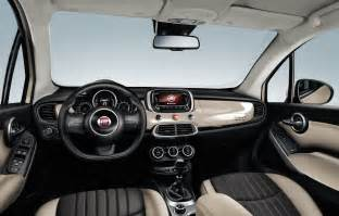 Fiat 500x Interior Fiat S 500x Small Crossover Revealed Will Be Sold In U S