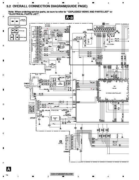 pioneer deh p4800mp schematics service manual