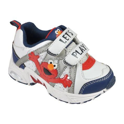 elmo shoes sesame toddler boys elmo character shoe white