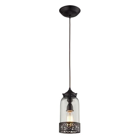 titan lighting schoolhouse pendants 1 light bronze