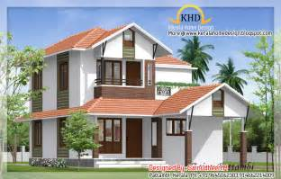 Beautiful Houses With Floor Plans 8 Beautiful House Elevation Designs Kerala Home Design