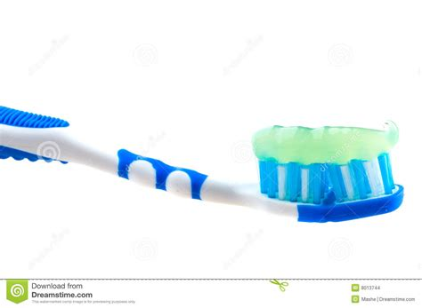 toilet brush tooth brush mouth tooth brush and paste stock images image 8013744