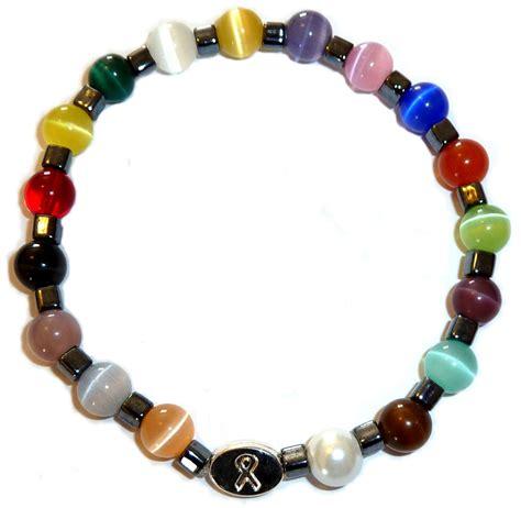Cancer Awareness Bracelet For Men   18 Color