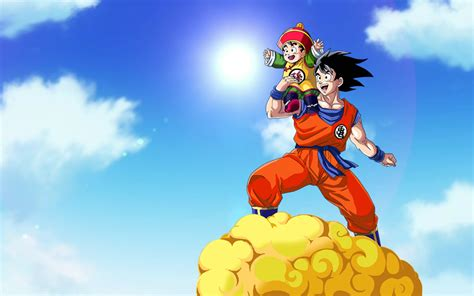 imagenes de gohan y goku goku and gohan wallpaper widescreen by brusselthesaiyan on