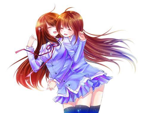 2 Anime Best Friends by Best Friends By Xnamii On Deviantart