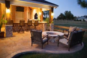 features by custom patios traditional patio