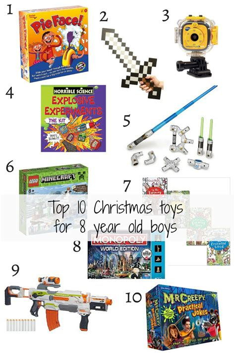 christmas recipes for 8 year old top 10 toys for 8 year boys mummy and monkeys