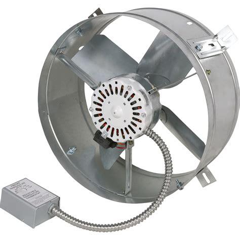600 cfm exhaust fan cool attic gable mount attic exhaust ventilator fan