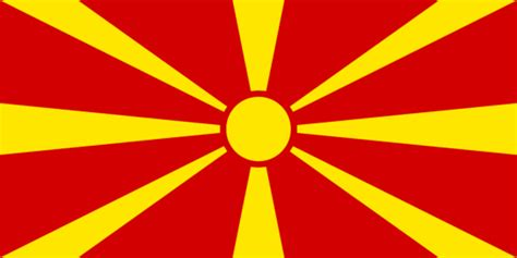 flags of the world yellow sun macedonia timeless