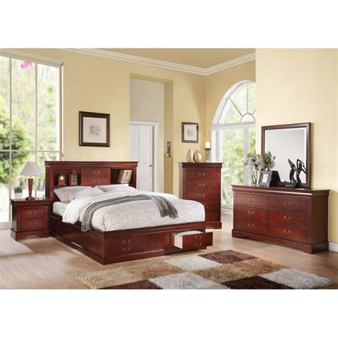 louis philippe bedroom collection louis philippe iii 4pc bedroom set
