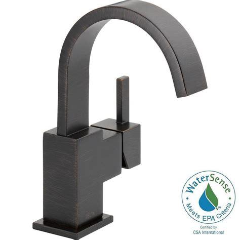 Delta Vero Faucet by Delta Vero Single Single Handle Bathroom Faucet With