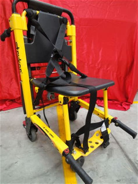 Stryker Stair Chair by Used Stryker Stair Pro 6252 Stretcher For Sale Dotmed
