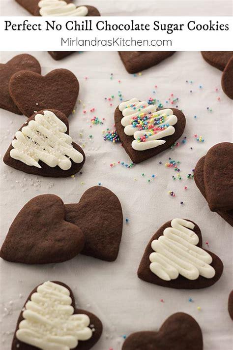 no chill chocolate sugar cookies mirlandra s kitchen