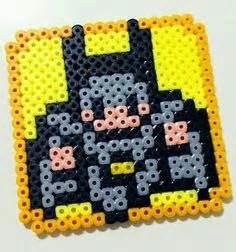 hama spotlight simple batman perler bead pearler