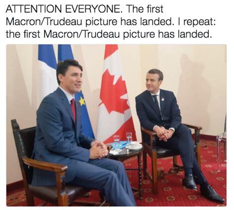 emmanuel macron socks emmanuel macron and justin trudeau bromance know your meme