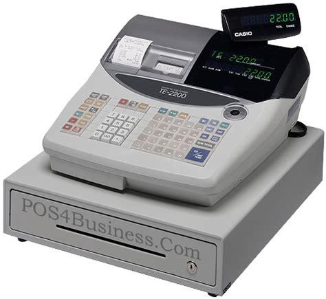 Mesin Kasir Casio Te 2200 casio te 2200 register