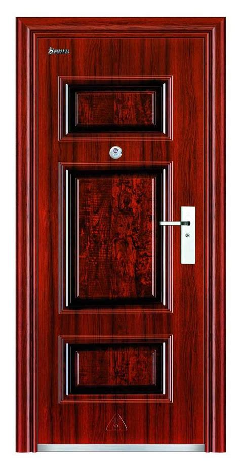Steel Exterior Security Doors China Steel Door Metal Exterior Security Door