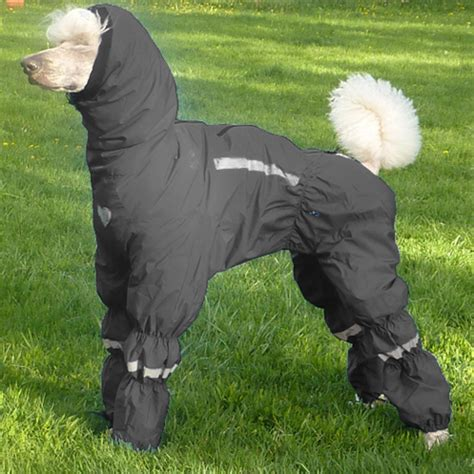 snowsuit with attached boots the ultimate snow suit coats for dogs