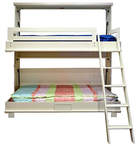 Bunk Bed Wall Beds Murphy Bunk Beds Wilding Wallbeds