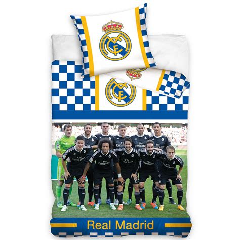 Bedcover Set Manchester United 180x200 official real madrid single duvet covers football