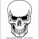 Royalty-Free (RF) Skull Clipart Illustration by Seamartini Graphics ...