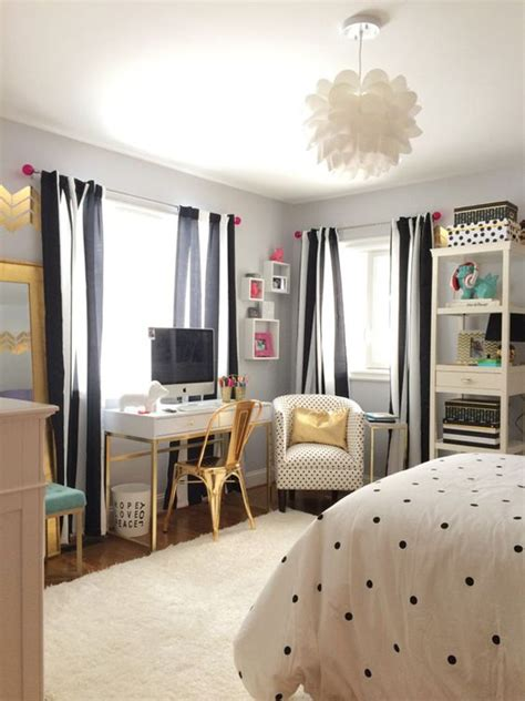 bedroom decor for teenage girls 10 black and white bedroom for teen girls home design