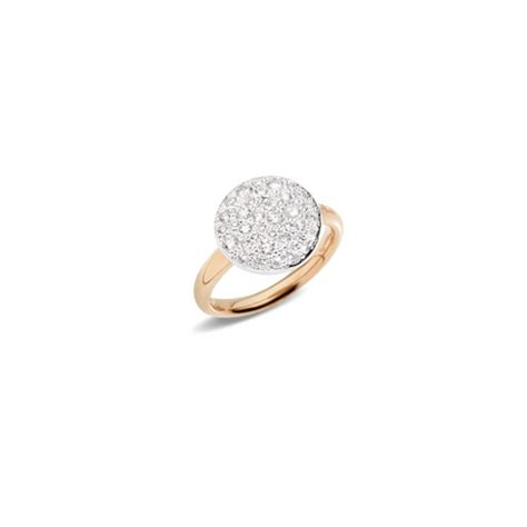 anello sabbia pomellato ring sabbia pomellato pomellato boutique