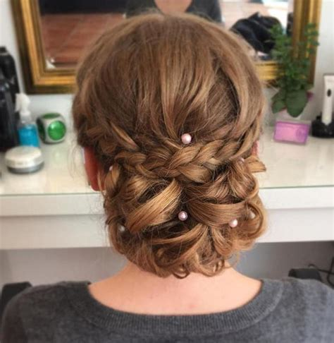 Hair Prom Hairstyles by 40 Most Delightful Prom Updos For Hair In 2017