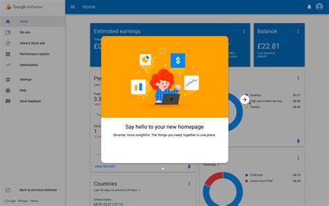 adsense user first the new google adsense user interface built with angulardart