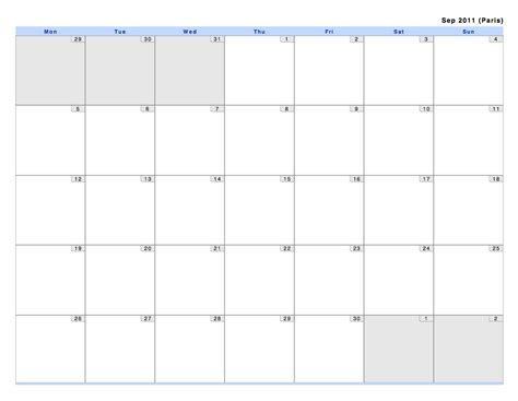 calendar month layout philofaxy monthly view calendars