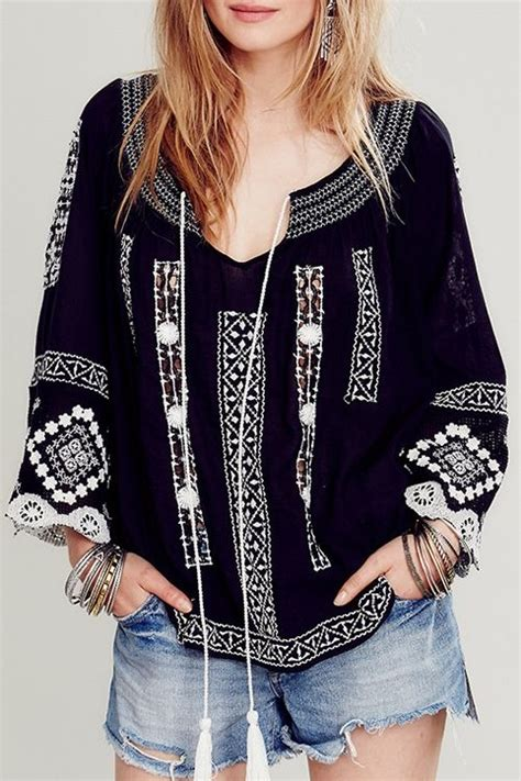 Buffy Top Tunik 506 best images about embroidered tunics tops on molly mexican blouse and
