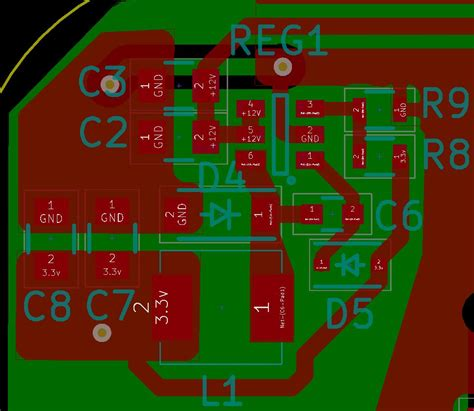 pcb layout job description pcb design mcp16301 step down voltage regulator pcb