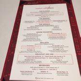 Vdara in room dining menu