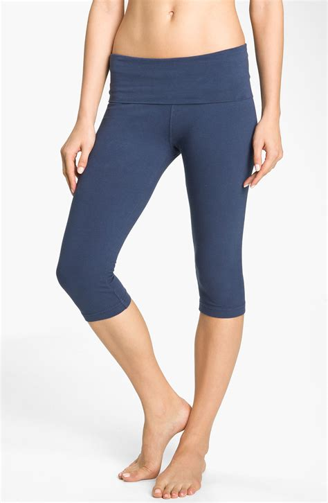Legging Anak Blue Knee Sale roll waist knee length in blue ink