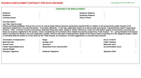 Application Letter For Data Encoder 28 Images Data