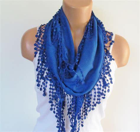navy blue pashmina scarf with fringe scarf fall
