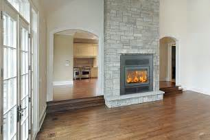two sided wood fireplace sided fireplace my future home