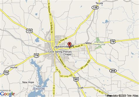 jacksonville texas map map of americas best value inn jacksonville jacksonville