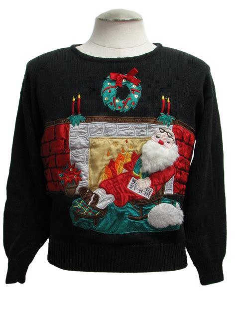 fireplace sweater sweater work in progress unisex black