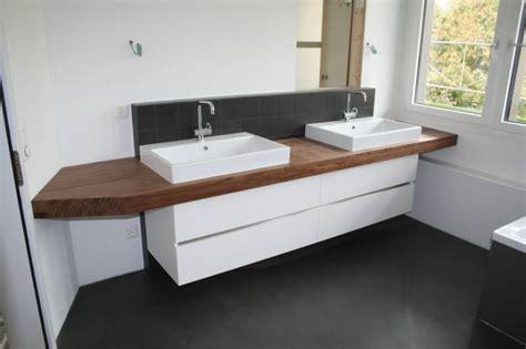 Badezimmer Unterschrank Mit Holzplatte by Doppelwaschtisch Unterschrank Ikea Nazarm