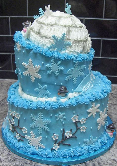 winter cake decorations winter cake ideas winter cake pictures