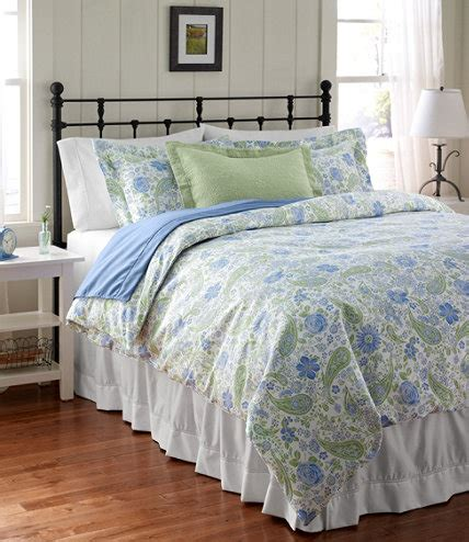 llbean comforter cover wrinkle free comforter cover floral free shipping at l