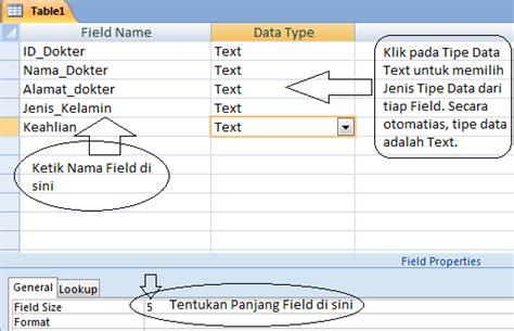 membuat database keuangan dengan access cara membuat tabel database dengan ms access berbagi