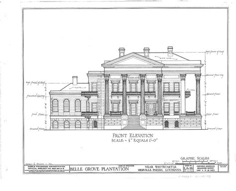 Historic Plantation Home Floor Plans Louisiana Plantation House Plans