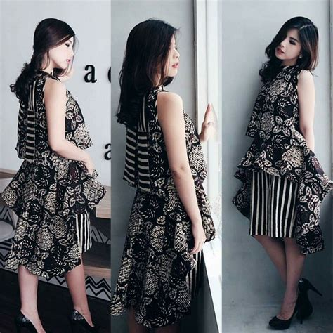 Dress Phing Phing 1000 ide tentang modern batik dress di kebaya