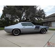 Pro Touring 1971 SS Split Bumper Camaro  PAINT AND
