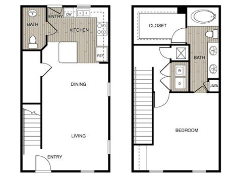 2 Story Apartment Plans by Except The Bathroom And The Open Area Would To Be