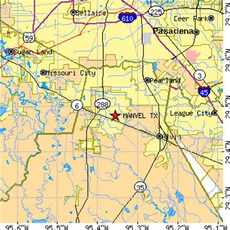 manvel texas map manvel texas tx population data races housing economy